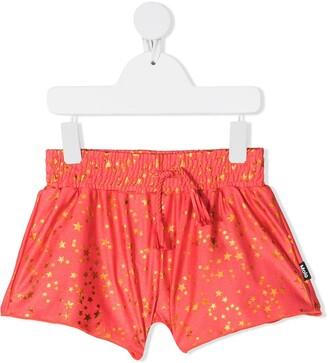 Molo Kids Star Print Swim Shorts