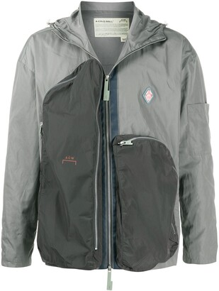 A-Cold-Wall* Hooded Panelled Lightweight Jacket