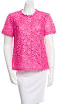 Kate Spade Short Sleeve Lace Top