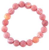 Barse Matte Agate Stone Stretch Bracelet