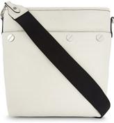 Claudie Pierlot Aurely grained leather shoulder bag