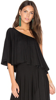 Rachel Pally Remi Top in Black. - size L (also in M,S,XS)