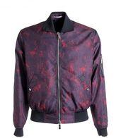 Christian Dior Abstract Print Bomber Jacket