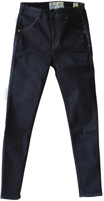 Tri Colour Federation Organic Cotton Manhattan Denim High Waisted Slim Fit Jean