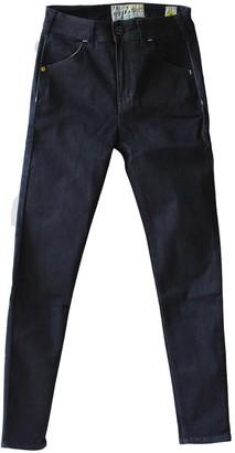 Tri Colour Federation Organic Cotton Manhattan Denim Waisted Slim Fit Jean