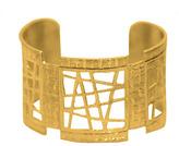 "Joan Hornig Madison"" 18K Yellow Gold Cuff Bracelet"