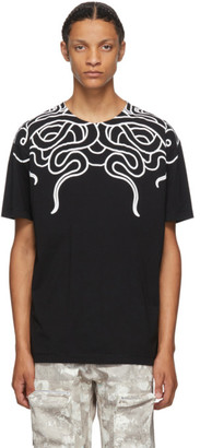 Marcelo Burlon County of Milan Black Snakes T-Shirt