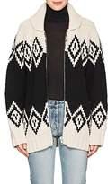 Marc Jacobs Women's Oversized Wool Zip-Front Cardigan