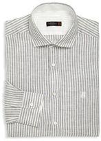 Corneliani Striped Button-Up