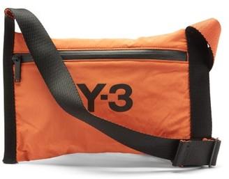 Y-3 Logo-print Shell Cross-body Bag - Black