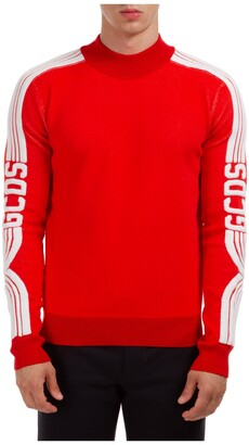 GCDS Logo Side Stripe Jumper
