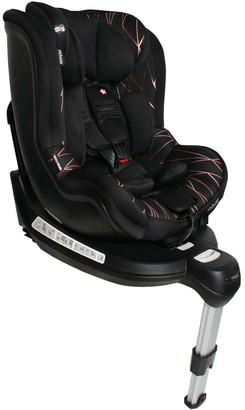 Orbit Group 0+/1 Black and Rose Gold Spin Car Seat
