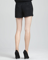 Diane von Furstenberg Naples Hot-Fix Crystal Shorts