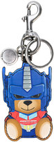 Moschino Transformer bear key ring - women - Calf Leather - One Size