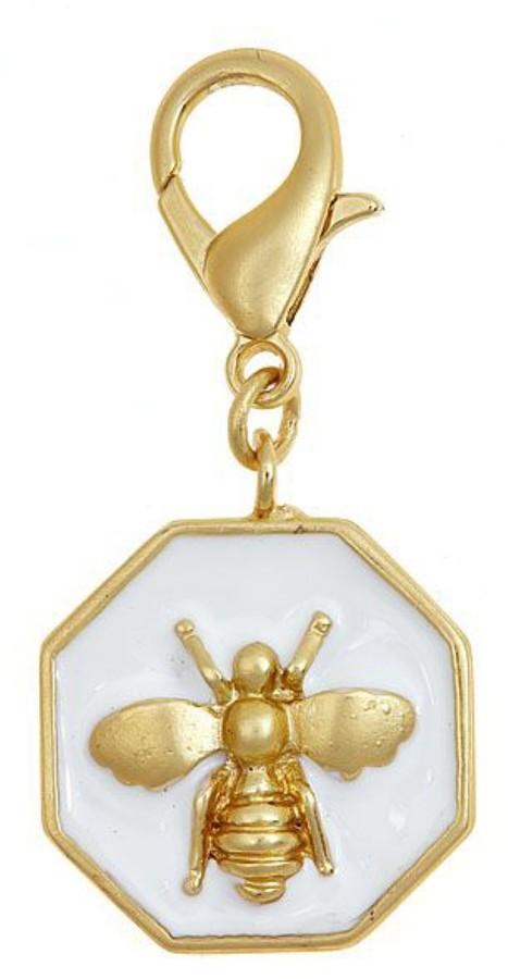 Bumble Bee Fornash Enamel Charm