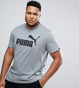 Puma PLUS ESS No.1 T-Shirt In Gray 83824103