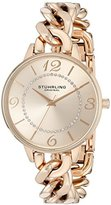 Stuhrling Original Women's 588.05 Vogue Analog Display Quartz Rose Gold Watch