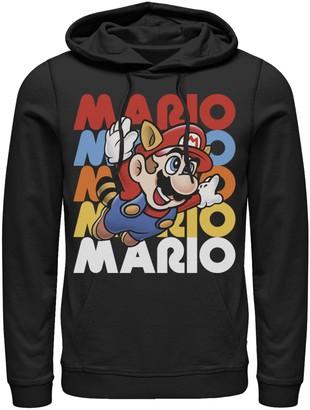 Nintendo Men's Super Mario Raccoon Hoodie