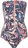 Stella McCartney marbled swirl swimsuit