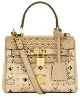 MCM Mini Diamond Visetos Satchel