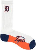 For Bare Feet Detroit Tigers Crew White 506 Socks