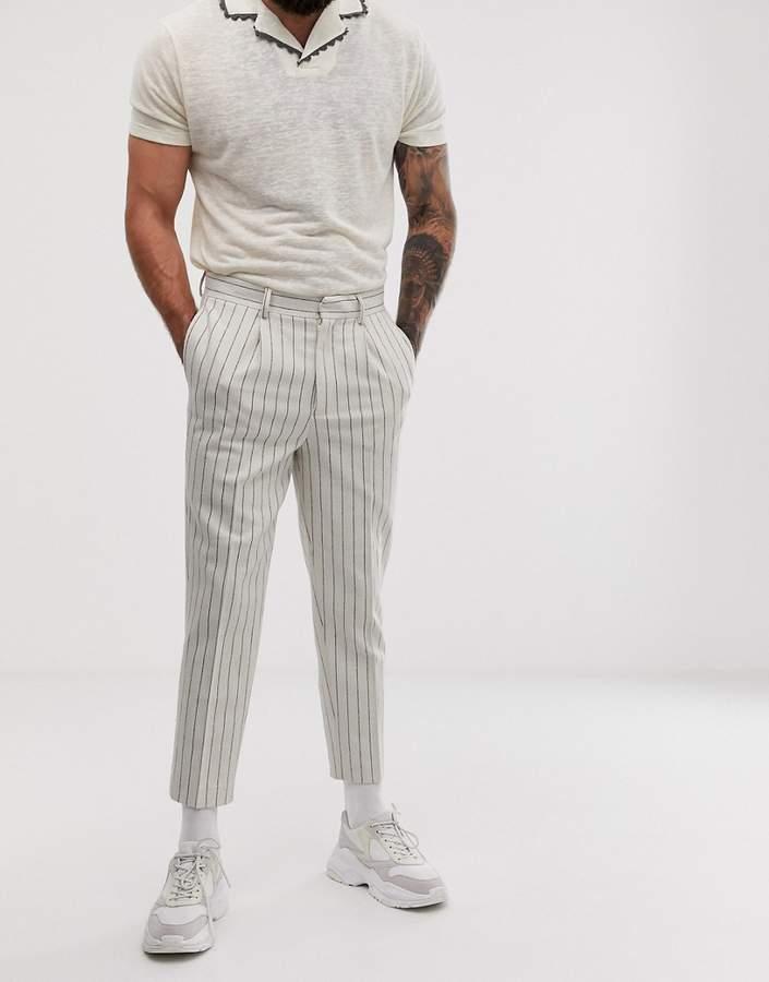 5a268c1416bd86 Asos White Men's Pants - ShopStyle