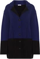 Oscar de la Renta Wool and cashmere-blend jacket
