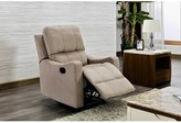 Lenox Willandra Manual Recliner Winston Porter Upholstery Color Tan