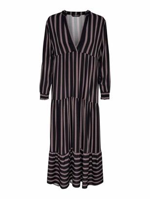 Only Women's Onlselina L/s Midi Dress WVN
