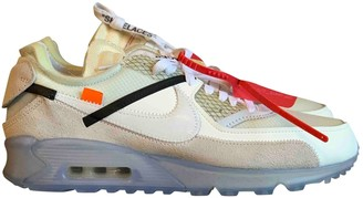 Nike x Off-White Air Max 90 White Suede Trainers