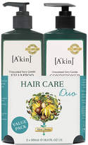 Akin A'kin Unscented Shampoo & Unscented Conditioner Duo 500ml