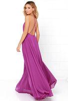 LuLu*s Mythical Kind of Love Black Maxi Dress