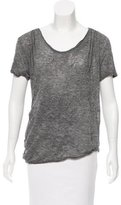 3.1 Phillip Lim Short Sleeve Scoop Neck T-Shirt
