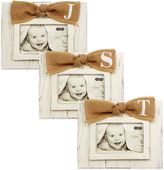 Mud Pie Letter 4-Inch x 6-Inch Bow Picture Frame