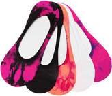 Steve Madden Tie Dye No Show Liners - 5 Pack - Women's