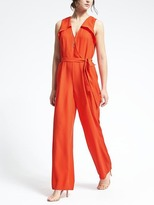 Banana Republic Wrap-Front Jumpsuit