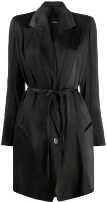 Ann Demeulemeester Belted Lightweight Coat