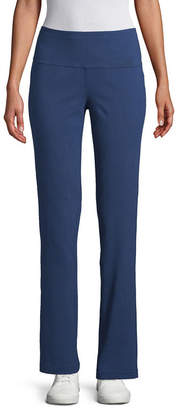 ST. JOHN'S BAY SJB ACTIVE Active Womens Slim Pant-Petite
