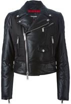 DSQUARED2 padded biker jacket