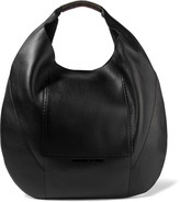 McQ by Alexander McQueen Studded textured-leather tote