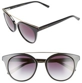Ted Baker Women's 51Mm Gradient Lens Round Retro Sunglasses - Beige