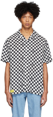 Axel Arigato Black and White Grid Shirt