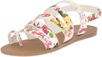 Madden-Girl Women's FONDUEE Flat Sandal
