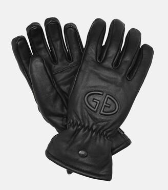 Goldbergh Freeze leather gloves