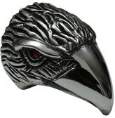 Femme Metale Jewelry Eagle Head Ring