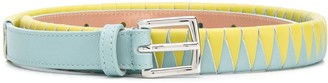 Malo Woven Two-Tone Belt