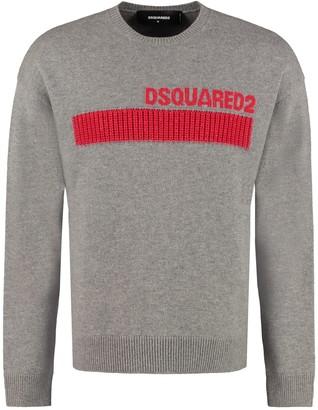 DSQUARED2 Virgin Wool Crew-neck Sweater