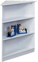 Gift Mark 3-Tier Corner Bookcase - White
