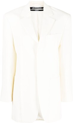 Jacquemus Single-Breasted Blazer Jacket