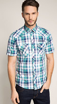 Esprit OUTLET western-style check shirt
